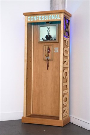 Function Digital Confessional Booth