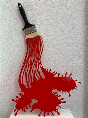 """""""Lets Paint"""" Metal Red"""