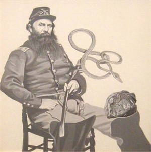 Soldier with Serpent