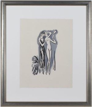 Two Women with Mirror -La Garconne Series- Deux femmes avec un miroir, 2011