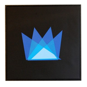 """Ghetto King (Blue)"" by Liam Snootle"