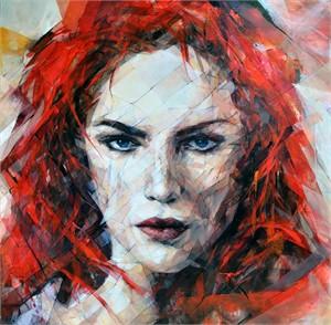 Red Portrait, 2017