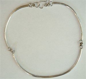 Sterling Link Necklace