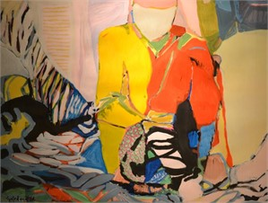 Abstract Figure (Woman in Interior), 1967