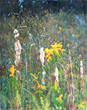 Broomsedge and Golden Rods