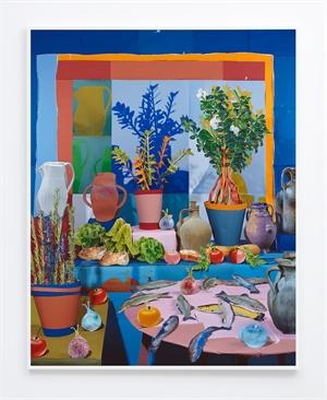 Lettuces and Trout, 2016, by Daniel Gordon, 2016