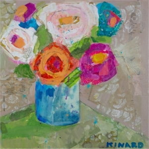 Flower Punch by Christy Kinard
