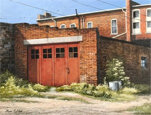Back Alley by Roger Blair