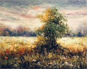 LOOSE TREE IN FIELD