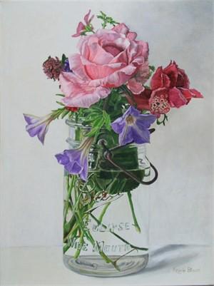 Rose & Petunias II