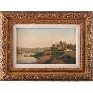 RIVES SCENE, French, circa 1880s