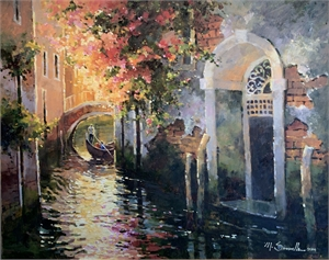 "MARILYN SIMANDLE, OPAM, ""Venice Romance"""