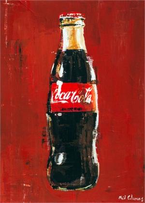 Coke Bottle by Plaid Columns