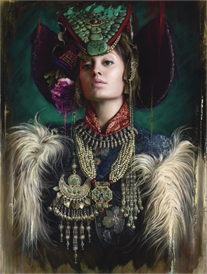 Zanskar Maiden by Alexandra Manukyan