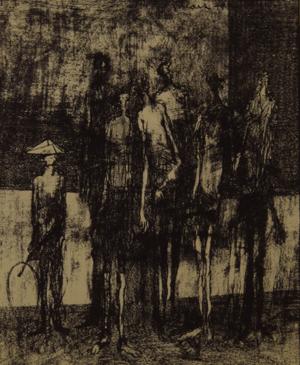 Untitled Figures, 1949