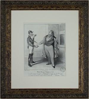 Robert Macaire Banquier et Jure, 1836