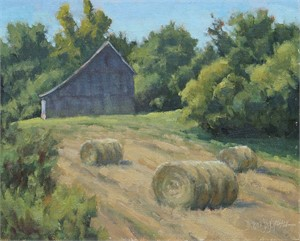 Freshly Baled by Debra J. Groesser