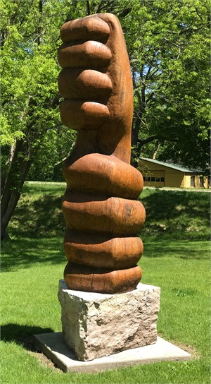 Ego Bind Mudra Sculpture, 2017