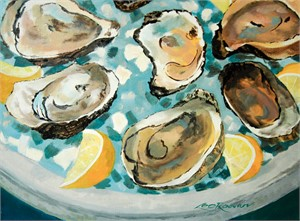 Plate of Oysters, 2018
