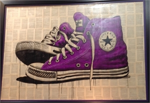 Shoescape Purple Converse, 2016