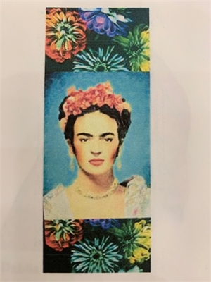 Frida Scarf, Silk by Laurie Tennent
