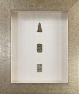 Three Ashanti Gold Weights (Flat Barred), 19th c