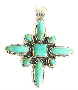 Pendant - Turquoise Star