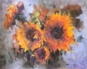Fractured Sunflowers