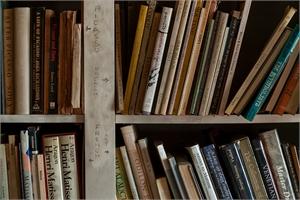 Artist's Bookcase, Selma, AL 2005, 2019