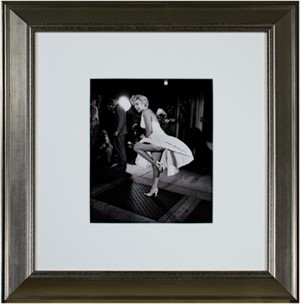 Marilyn Monroe NYC 1954 Seven Year Itch Ser. 3. Printed in 1990 from the 1954 negative, 1990