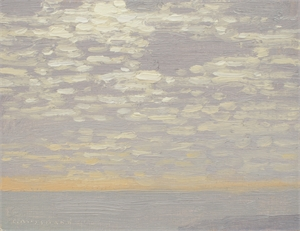 January Morning Clouds by David Grossmann