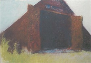 Barn Against the Morning Sun, 1984