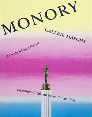 Monory - Galerie Maeght, 1978