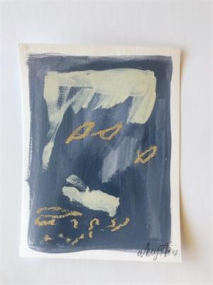 Blue Study I, 2019
