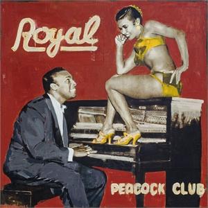 Royal Peacock Club by Plaid Columns