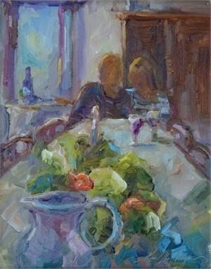 Dinner in Tuscany