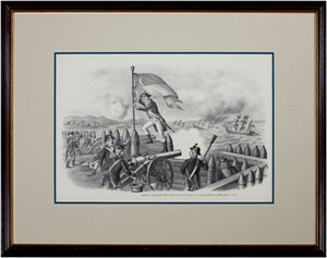 Sargt. Jasper Recovers Flag at Charleston June 28,1776, c.1890