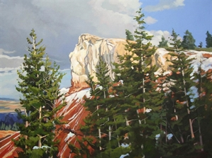 October Snow - Bryce Canyon by Cally Krallman