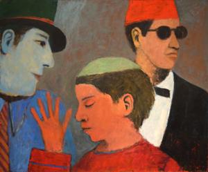 Three Guys, c. 1990