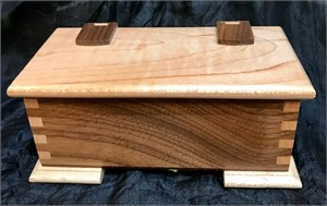 Walnut & Maple Box