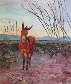 Mule in the Desert, 2018