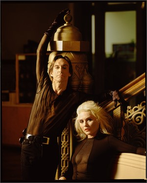 90107 Iggy Pop and Debbie Harry D18 CC Color, 1990