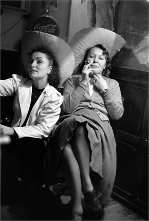 No. 026 Two Women in a Bar, Paris, France, 1950