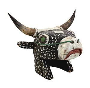 Cow Head - Bidjogo Tribe Portuguese Guinea, c.1900