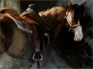 """KATHERINE F GALBRAITH, OPA, """"Saddled Up"""""""