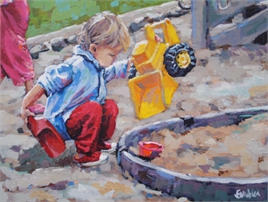 """""""Digger Baby"""" by Jenny Grumbles"""