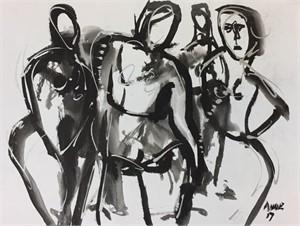 Figure Drawing #31, 2018