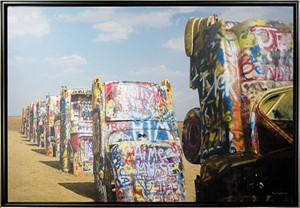 Cadillac Ranch, TX, 2005