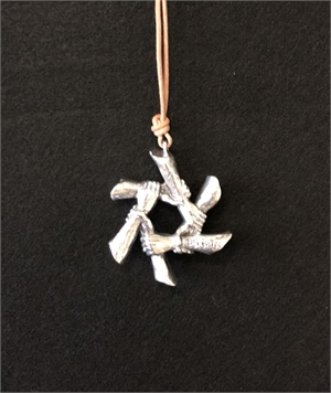 """Necklace - """" Synergy"""" - Sterling Silver , 2020"""