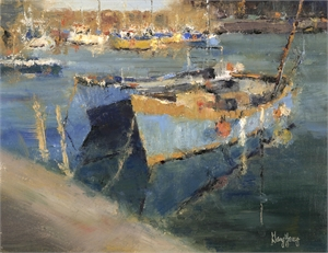 "GARY YOUNG, ""Mevagissey Harbor"""